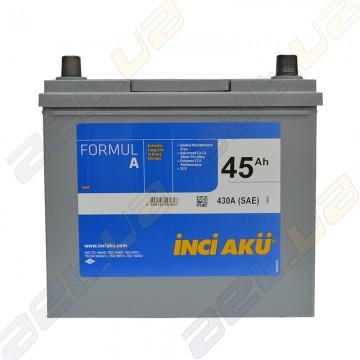 Аккумулятор INCI-AKU Formul A 45Ah JR+ 430A