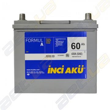 Аккумулятор INCI-AKU Formul A 60Ah JL+ 430A