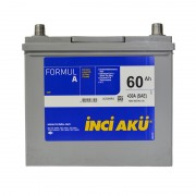 INCI-AKU Formul A 60Ah JR+ 430A (корпус 45)