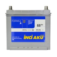 INCI-AKU Formul A 68Ah JR+ 600A