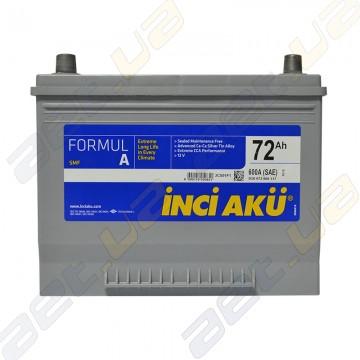 Аккумулятор INCI-AKU Formul A 72Ah JL+ 600A