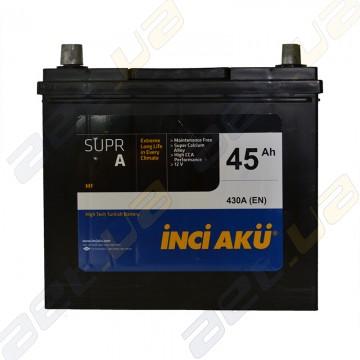 Аккумулятор INCI-AKU Supr A 45Ah JL+ 430A