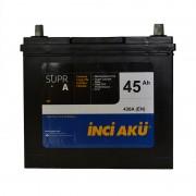 INCI-AKU Supr A 45Ah JR+ 430A (тонкая клемма)