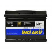 INCI-AKU Supr A 60Ah R+ 540A (низкобазовый)