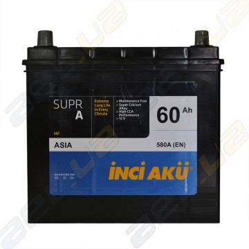 Аккумулятор INCI-AKU Supr A 60Ah JL+ 580A