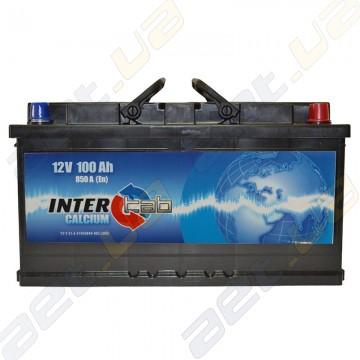 Аккумулятор InterTab 100Ah R+ 850A