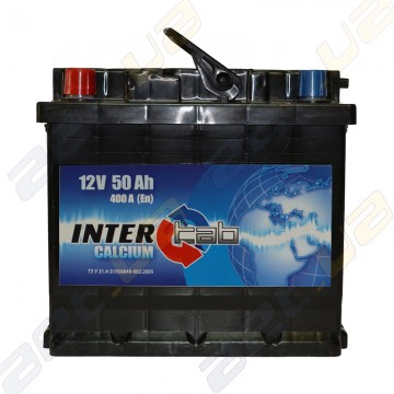Аккумулятор InterTab 50Ah L+ 400A