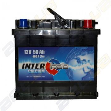Аккумулятор InterTab 50Ah R+ 400A