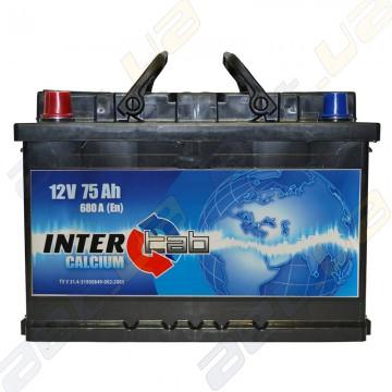 Аккумулятор InterTab 75Ah L+ 680A