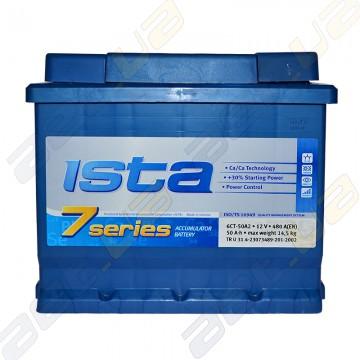Аккумулятор Ista 7 series 52Ah L+ 510A (EN) (низкобазовый)