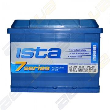Аккумулятор Ista 7 series 60Ah R+ 570A (EN)