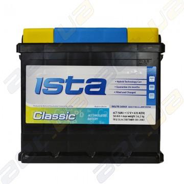 Аккумулятор Ista Classic 50Ah L+ 420A (EN)