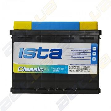 Аккумулятор Ista Classic 60Ah R+ 510A (EN)