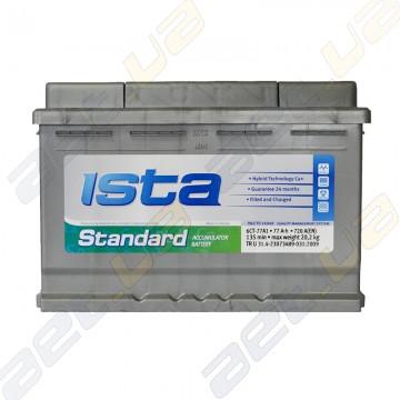 Аккумулятор автомобільний Ista Standard 77Ah R+ 720A (EN)