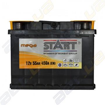 Аккумулятор Mega Start 55Ah L+ 450A