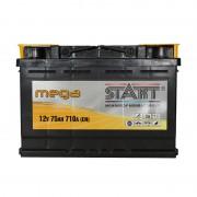 Mega Start 75Ah R+ 710A