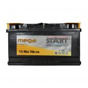 Mega Start 80Ah R+ 740A (низкобазовый)