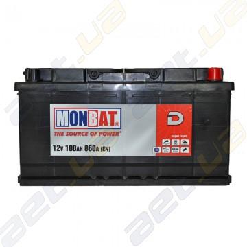 Аккумулятор Monbat D 100Ah R+ 860A