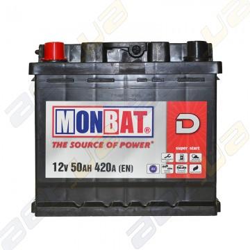 Акумулятор Monbat D 50Ah L+ 420A