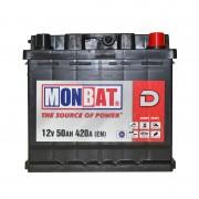 Monbat D 50Ah R+ 420A