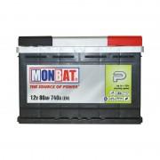 Monbat P 80Ah R+ 740A