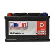 Monbat D 75Ah L+ 680A
