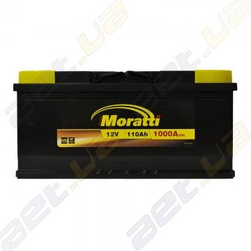 Аккумулятор Moratti 110Ah R+ 1000A