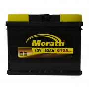 Moratti 62Ah R+ 610A