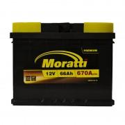 Moratti Premium 66Ah R+ 670A