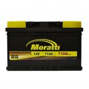 Moratti 71Ah R+ 710A (низкобазовый)