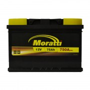Moratti 75Ah R+ 750A