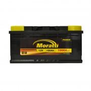Moratti Premium 100Ah R+ 1000A (низкобазовый)
