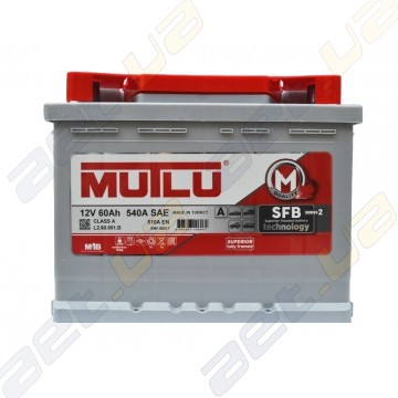Аккумулятор Mutlu SFB Technology (Ser2) 60Ah L+ 510A