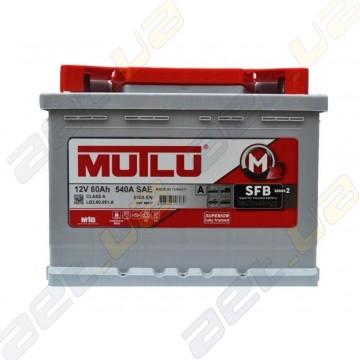 Аккумулятор Mutlu SFB Technology (Ser2) 60Ah R+ 510A  (низкобазовый)