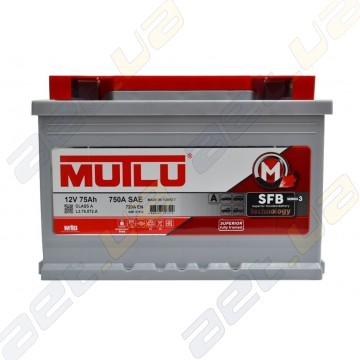 Аккумулятор Mutlu SFB Technology (Ser3) 6CT-75Ah R+ 720A (EN)
