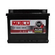 Mutlu AGM Start-Stop 60Ah R+ 680A