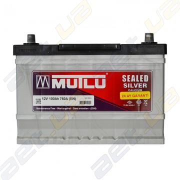 Аккумулятор Mutlu Silver Calcium 100Ah JR+ 760A