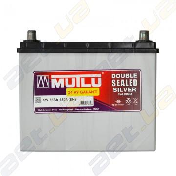 Аккумулятор Mutlu Silver Calcium 75Ah JR+ 650A