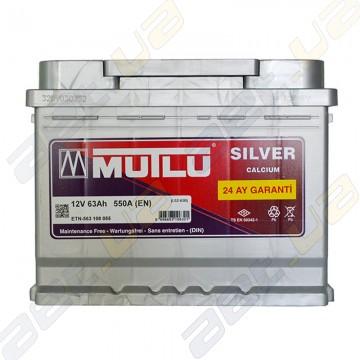 Аккумулятор Mutlu Silver Calcium 63Ah L+ 550A