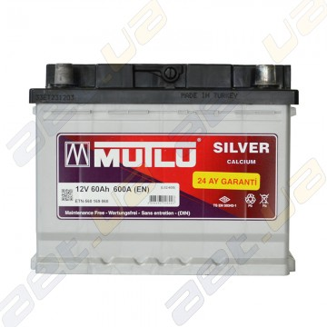 Аккумулятор Mutlu Silver Calcium 60Ah R+ 600A