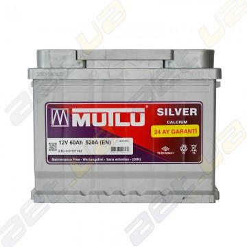Аккумулятор Mutlu Silver Calcium 60Ah L+ 520A