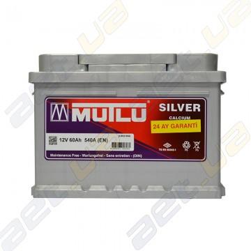 Аккумулятор Mutlu Silver Calcium 60Ah R+ 540A (низкобазовый)