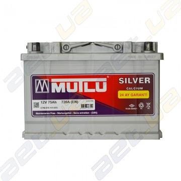 Аккумулятор Mutlu Silver Calcium 75Ah R+ 720A