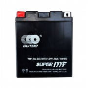 Outdo (YB12A-BS) gel 12V 12Ah L+