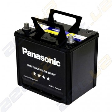 Аккумулятор автомобильный Panasonic (75D23L-FHB) 65Ah JR+ 533A с бортом