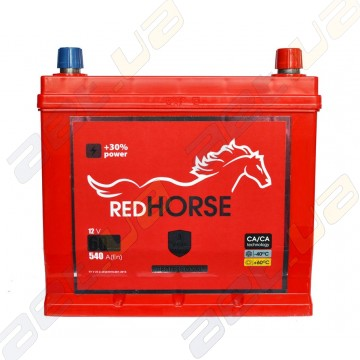 Аккумулятор Red Horse Professional Asia  60Ah JR+ 540A