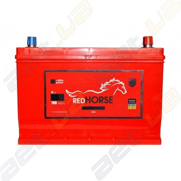 Аккумулятор Red Horse Professional Asia  95Ah JR+ 780A