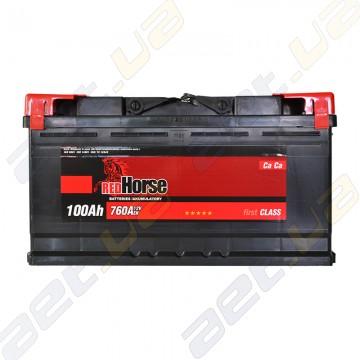 Аккумулятор RedHorse 100Ah R+ 760A