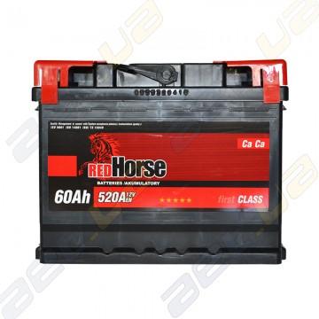 Аккумулятор RedHorse 60Ah R+ 520A