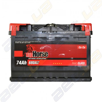 Аккумулятор RedHorse 74Ah R+ 680A